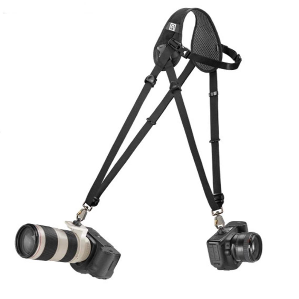 美國BlackRapid快槍俠雙槍單眼相機背帶 雙機相機揹帶Hybrid Breathe