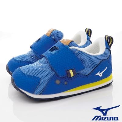 MIZUNO童鞋 大絆帶學步鞋款-ON93227深藍(寶寶段)