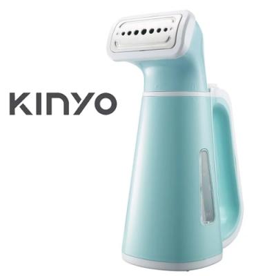 KINYO 手持小巧蒸氣掛燙機-藍色 HMH8450