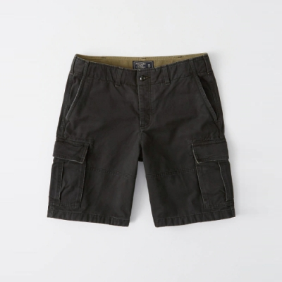 AF a&f Abercrombie & Fitch 短褲 黑 1333