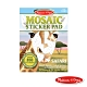 美國瑪莉莎 Melissa & Doug 貼紙簿 - 數字馬賽克貼, 非洲動物 product thumbnail 1
