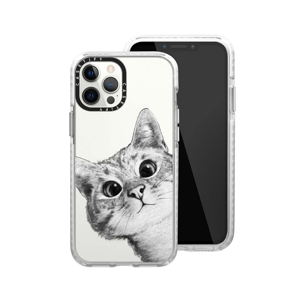 Casetify iPhone 12/12 Pro 耐衝擊保護殼-躲貓貓