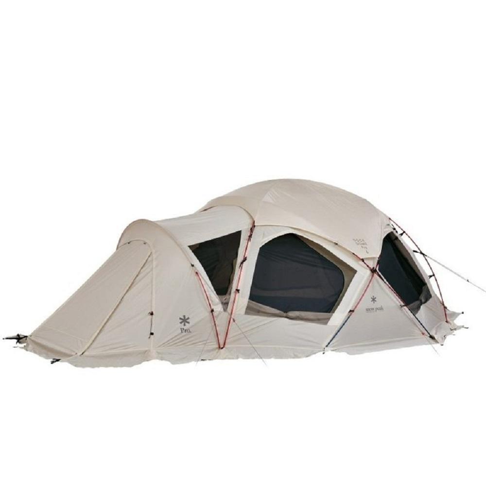 Snow Peak SD-507 Dock Dome Pro.6 圓弧寢室帳 象牙白附頂布