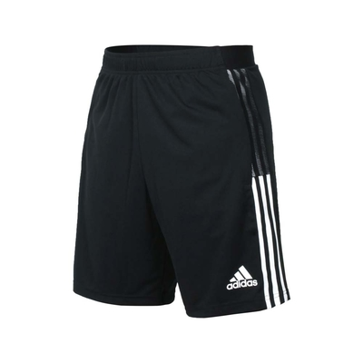 ADIDAS 男運動短褲-亞規 針織 五分褲 慢跑 路跑 吸濕排汗 愛迪達 GN2157 黑白