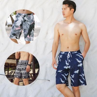 Biki比基尼妮泳衣,雜誌火熱強力推薦款男泳褲M-XL(不挑款)