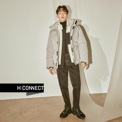 H:CONNECT 韓國品牌 男裝 - 擋風保暖羽絨外套  - 灰