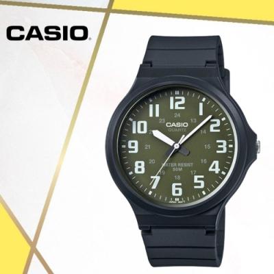 CASIO卡西歐 經典大錶面指針錶(MW-240-3B)/48mm