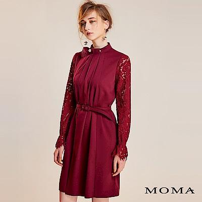 限時商品 | MOMA 蕾絲袖珍珠領洋裝