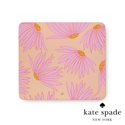 Kate Spade 馥郁花蕾時尚皮革滑鼠墊 Falling Flower