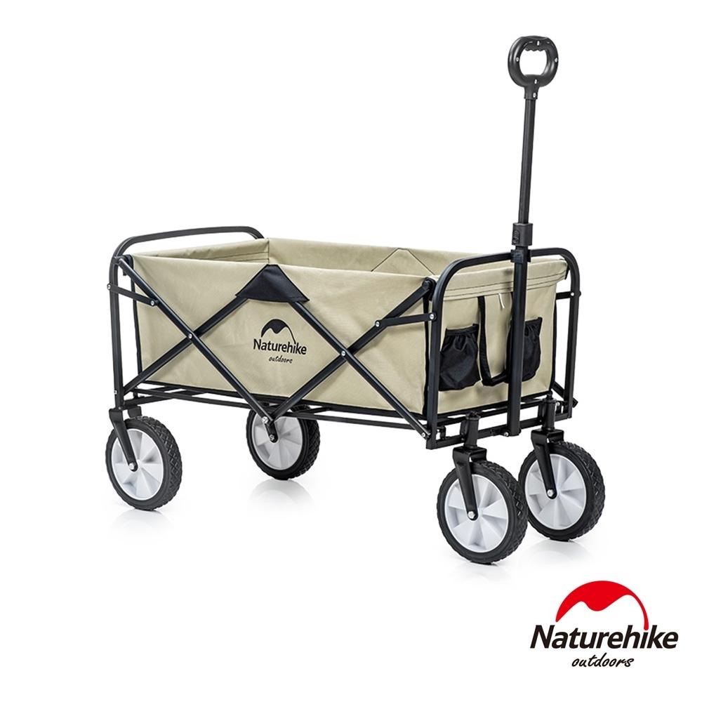 Naturehike 多用途露營便攜摺疊置物手推車 裝備車