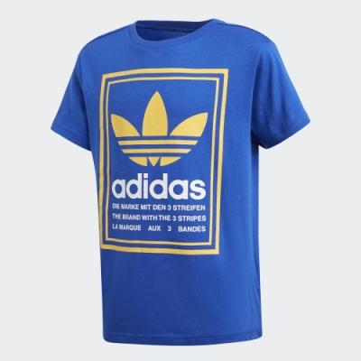 adidas GRAPHIC 短袖上衣 男童/女童 GD2825