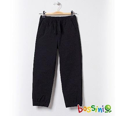 bossini童-彈性輕便保暖褲01黑