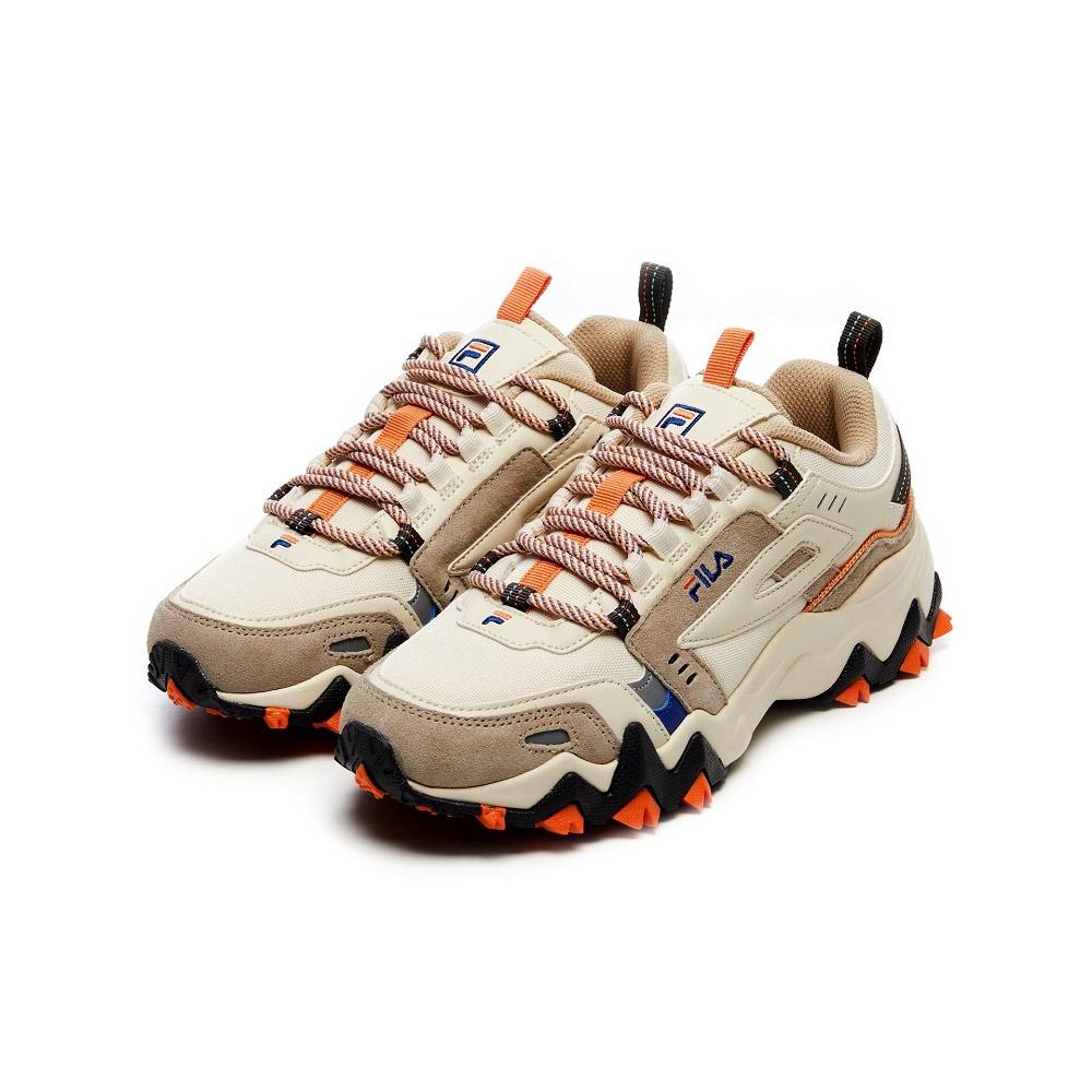 FILA OAKMONT TR 慢跑鞋-奶茶色 4-J032V-928