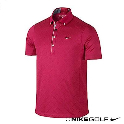 Nike Golf 休閒快速排汗短袖POLO衫 桃紅 653782-602