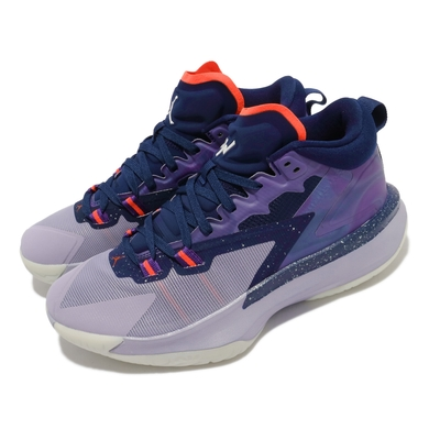 Nike 籃球鞋 Jordan Zion 1 PF 運動 男鞋 喬丹 明星款 避震 包覆 支撐 球鞋 紫 藍 DA3129400
