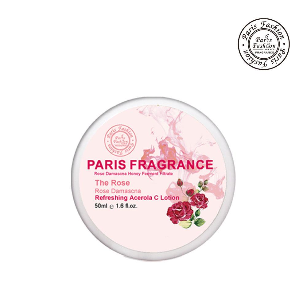 【Paris fragrance 巴黎香氛】櫻桃C玫瑰高效透白精華水霜50g