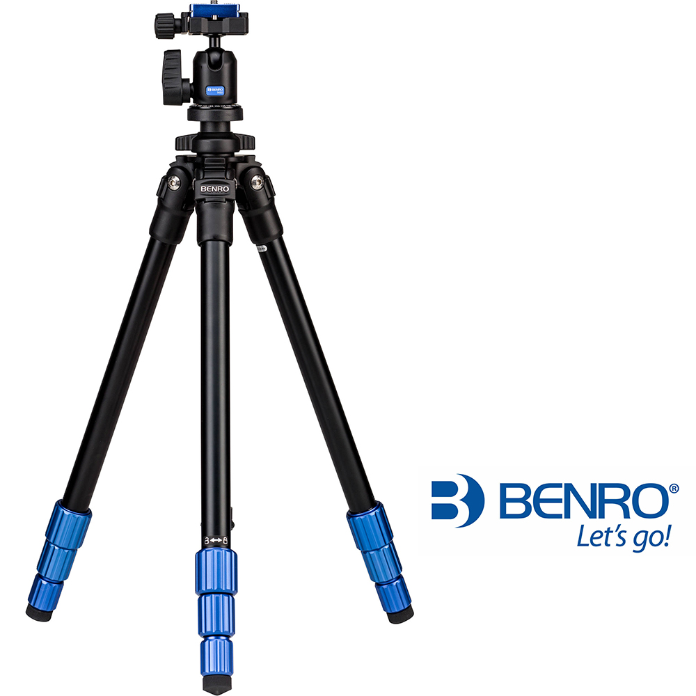 BENRO 百諾 TSL08AN00 經典鎂鋁合金腳架套組 (公司貨)