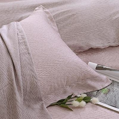 鴻宇 歐式壓框薄枕套2入 天絲300織 諾維亞 台灣製