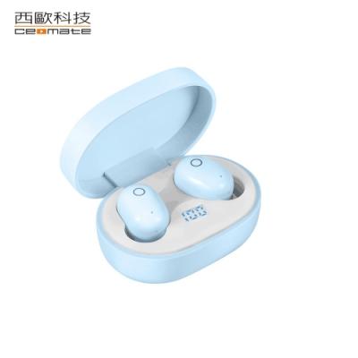 西歐科技 托雷多 無線雙耳立體聲藍牙耳機 CME-BTK900(天空藍)