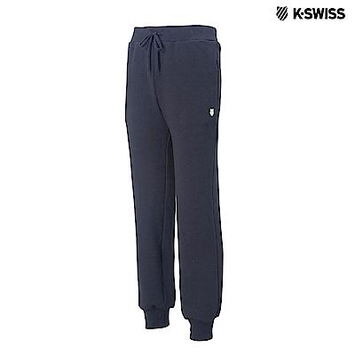 K-Swiss KS Sweatpants保暖運動長褲-男-黑 @ Y!購物