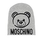 MOSCHINO 灰色泰迪毛帽 (童)