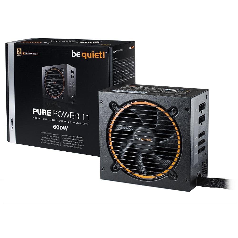 be quiet! BQT PURE POWER 11 600W 80+金牌 電源供應器