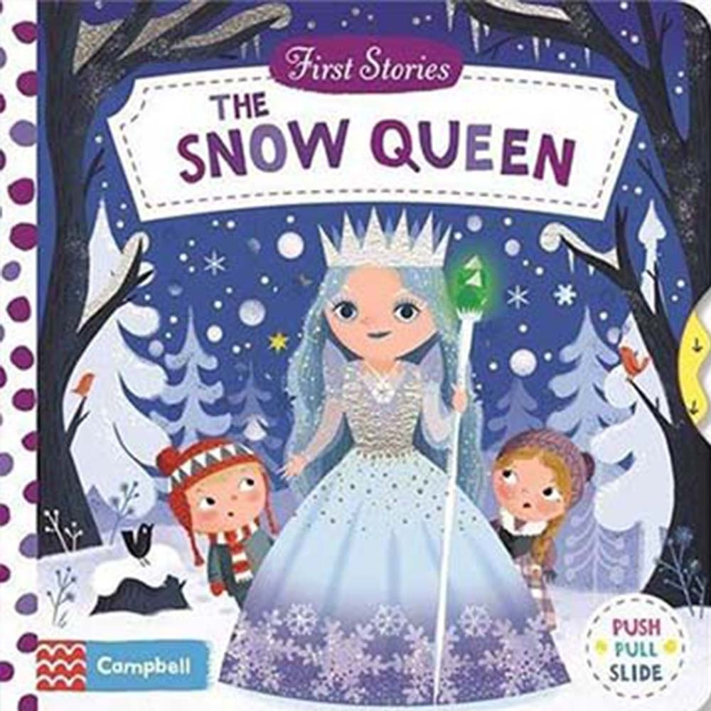 First Stories:The Snow Queen 冰雪女王硬頁拉拉操作書