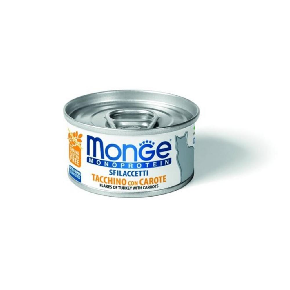 Monge Flakes頂級系列《無穀肉塊貓罐》80g 12罐組