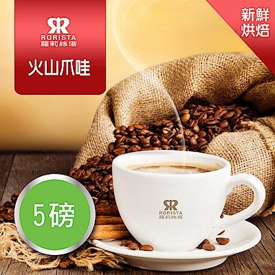 【RORISTA】火山爪哇_單品咖啡豆-新鮮烘焙(5磅)