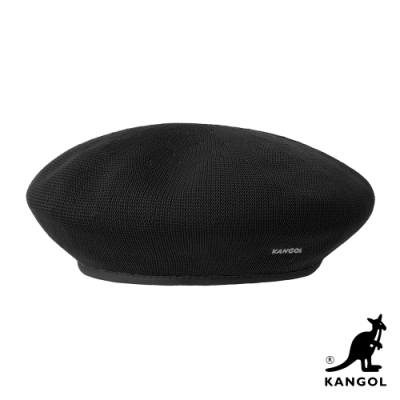 KANGOL-TROPIC 貝蕾帽-黑色