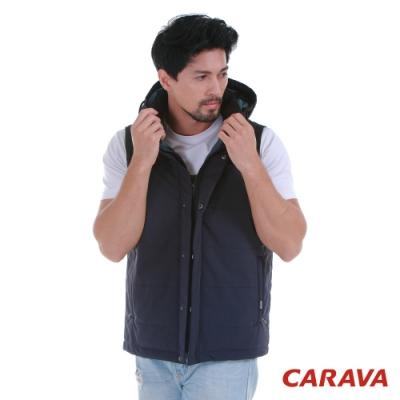 CARAVA防水保暖背心(深黑藍)