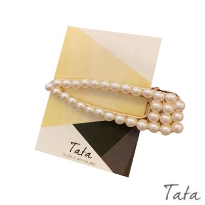 珍珠髮夾 TATA