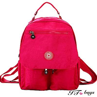 It Bags 日系防刮輕量防潑水旅行後背包 共五色