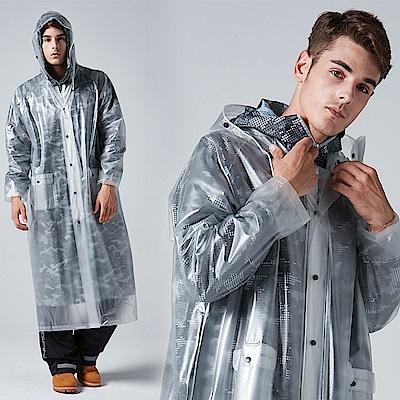 【寶嘉尼 BAOGANI】B04 雙層雨衣 - 迷彩