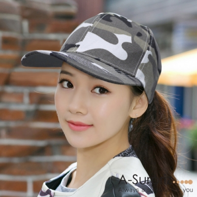 A-Surpriz 軍風迷彩棒球帽 (3色選)