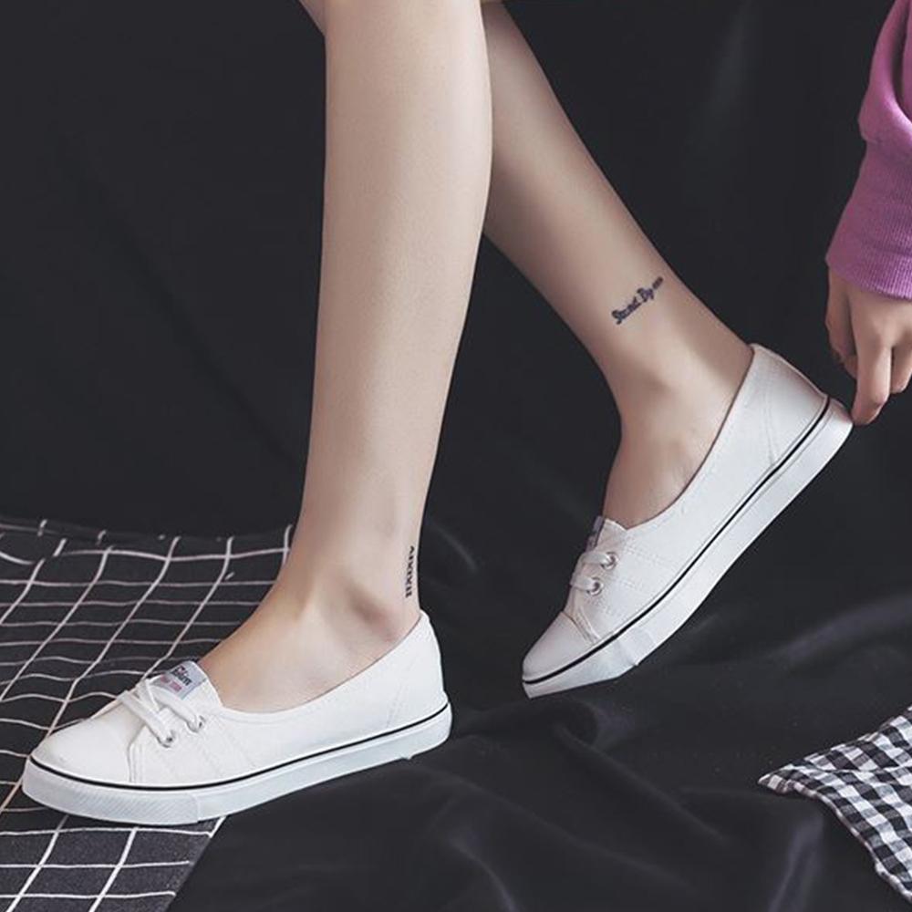 LN 現+預 經典簡約風淺口帆布休閒鞋-3色