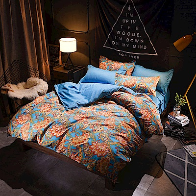 La Lune 台灣製經典超細雲絲絨單人床包枕套2件組 傾城之戀