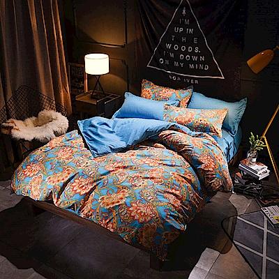 La Lune 台灣製經典超細雲絲絨雙人床包枕套3件組 傾城之戀