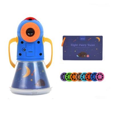 【希臘 MiDeer】多功能故事投影儀/星空早教童話手電筒玩具