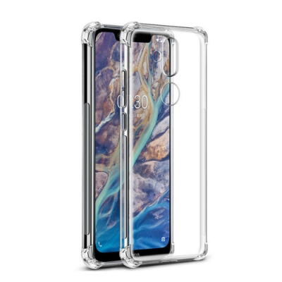 Nokia 8.1 四角防摔氣囊 透明手機殼 保護殼 手機套 (Nokia 8.1手機殼 Nokia 8.1保護殼 Nokia8.1保護套)