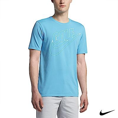 Nike Golf 男運動休閒短袖上衣 藍 839867-447