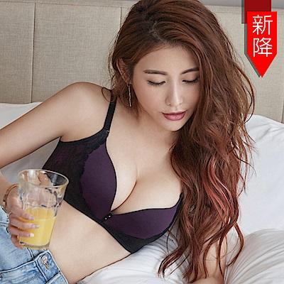 瑪登瑪朵 Soft Up 無鋼圈 內衣  B-E罩杯(迷幻紫)