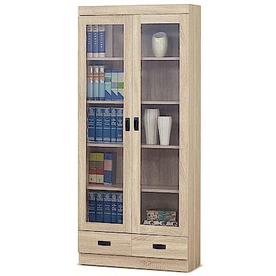凱曼  卡麥隆原切橡木2.6尺下抽書櫥/書櫃