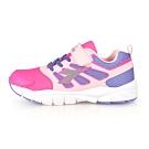 DIADORA 中童競速慢跑鞋-超寬楦 粉紅紫