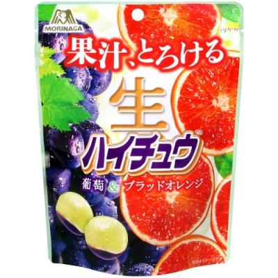 森永製果 生嗨啾軟糖[葡萄&柳橙](60g)