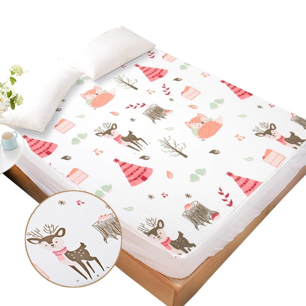 JoyNa加大防水隔尿墊床笠產褥墊看護墊保潔墊 生理墊180*200