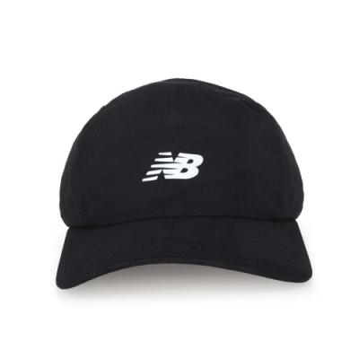 NEWBALANCE 專業跑步帽 黑銀