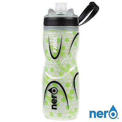 NERO FRIO 自行車雙層保冷水壺 620ml / 綠色