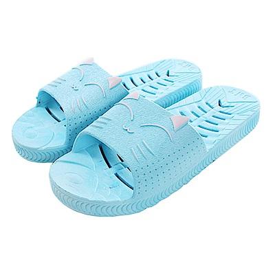 軟Q快速排水浴室拖鞋 sd5054 魔法Baby