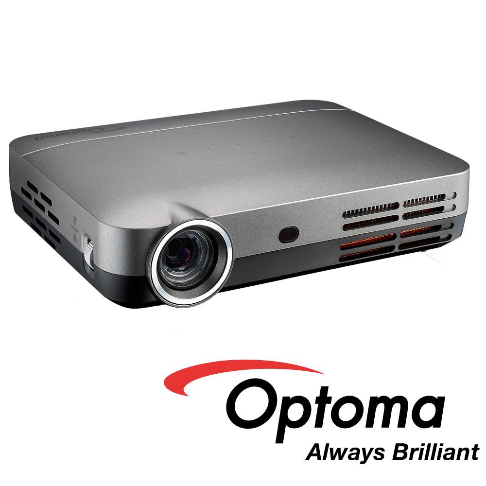 奧圖碼 ML330 高清微型智慧投影機 WXGA 500流明-銀 (公司貨)